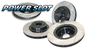 Stoptech Power Slot Performance Slotted Brake Rotor