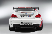 Akrapovic Slip-On Titanium Exhaust System for BMW 1M