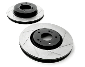 Stoptech Power Slot Performance Slotted Brake Rotor E8x 135i