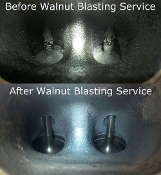 Walnut Shell Intake Valve Cleaning for BMW