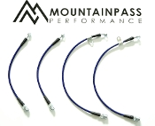 MPP Page Mill Stainless Steel Brake Lines